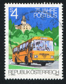 Mail Bus — Stockfoto