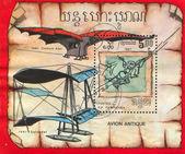 Early Aircraft Designs Da Vinci — Stock Photo