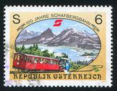 Dworzec kolejowy schafberg — Zdjęcie stockowe