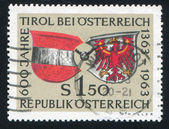 Arms of Austria and Tyrol — Stock Photo