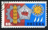 Badge of Socialist Working Brigade — Stock Photo