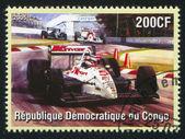 Racing at Formula One — Stock Photo
