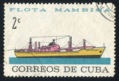 Merchant ship camilo cienfuegos — Foto de Stock