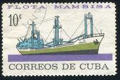 Merchant ship Oriente — Stock Photo