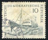 拖网渔船 — 图库照片