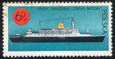 Transatlantic Liner Stefan Batory — Stock Photo