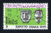 Folklore masks — Stock Photo