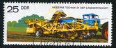 Potato digger and loader — Stock Photo