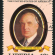 President of the United States Warren G. Harding — Stock Photo