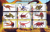 Styracosaurus dinosaur — Stock Photo