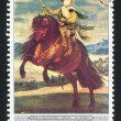Stock Photo: Prince Balthasar Carlos on horseback by Diego Velasquez