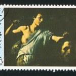 Постер, плакат: David and Goliath by Caravaggio
