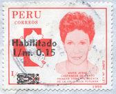 Maria Jesus Castaneda de Pardo — Stok fotoğraf