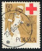 Alessio croce rossa — Foto Stock