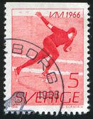 Speed Skater — Foto de Stock