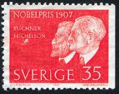 Eduard Buchner and Albert Michelson — Stock Photo