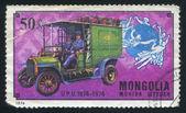 Mail vrachtwagen — Stockfoto
