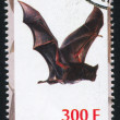 Bat stamp — Stock Photo #35785691
