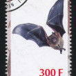 Bat stamp — Stock Photo #35785695