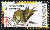Styracosaurus-dinosaurus — Stockfoto