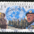 Swedish UN forces — Stok fotoğraf