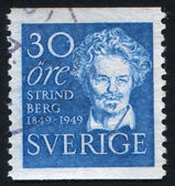 August Strindberg — Stock Photo