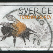 Sweden Bee — Stock Photo