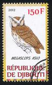 Stamp owl — Stock Photo