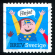 Sweden stamp — Stock Photo