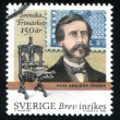 Stock Photo: Count Pehr Ambjorn Sparre and printing press