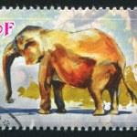 African bush elephant — Stock Photo #38275913