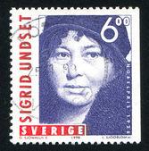 Sigrid Undset — Foto Stock
