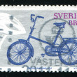 Stock Photo: Stamp Bike