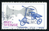 Stamp Bike — Stock Photo