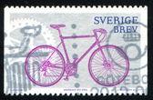 Stamp Bike — Stock Photo