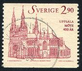 Uppsala cathedral — Stock Photo