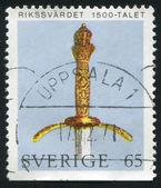 King Gustavus Vasa Sword — Stock Photo