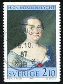 Hedvig Charlotta Nordenflycht by Johan Henrik Scheffel — Stock Photo