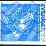 United Nations flag — Stock Photo