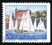 Segelboote — Stockfoto