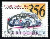 Porsche coupe — Foto Stock