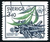 International Peace Year emblem — Stock Photo