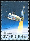 Hermes space plane — Stock Photo