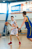 European youth basketball league — Stock Photo