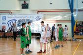 European youth basketball league — Stock Photo