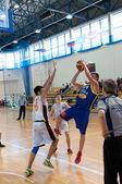 Liga de basquete europeu da juventude — Foto Stock