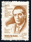 Adolfo Lopez Mateos of Mexico — Stock Photo