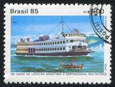 Barco de vapor — Foto de Stock