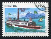 Steamboat — Stock Photo