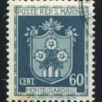 Coat of Arms of Montegiardino — Stock Photo #9473340